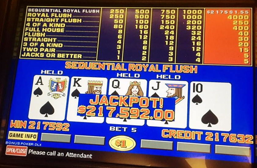 Video Poker Tips and Odds